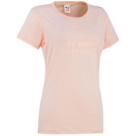 Dámské stylové triko s krátkým rukávem - KARI TRAA TVILDE TEE - 1