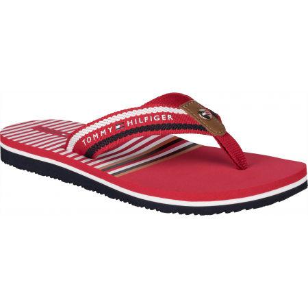 Tommy Hilfiger STRIPY FLAT BEACH SANDAL - Damen Flip Flops