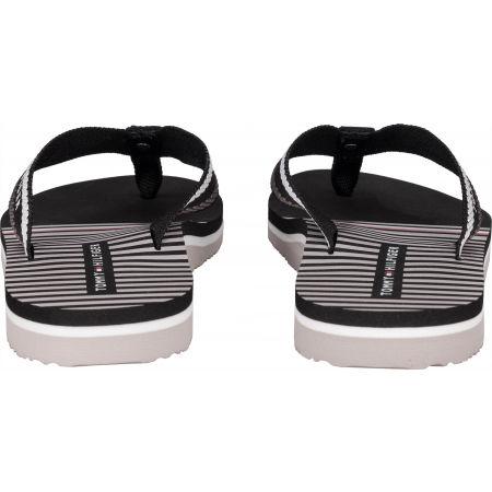 Women's flip-flops - Tommy Hilfiger STRIPY FLAT BEACH SANDAL - 7