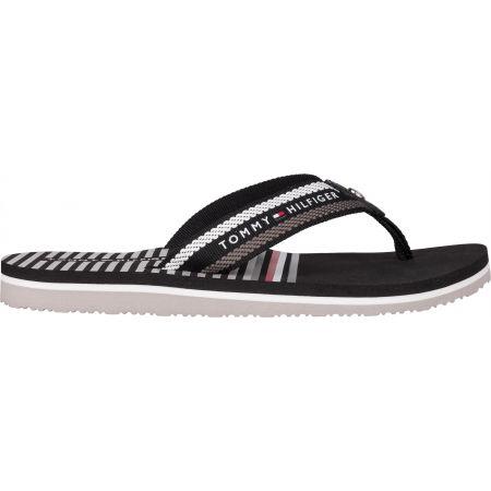 Women's flip-flops - Tommy Hilfiger STRIPY FLAT BEACH SANDAL - 3