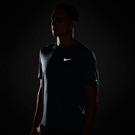 Pánské běžecké tričko - Nike DRI-FIT MILER - 5