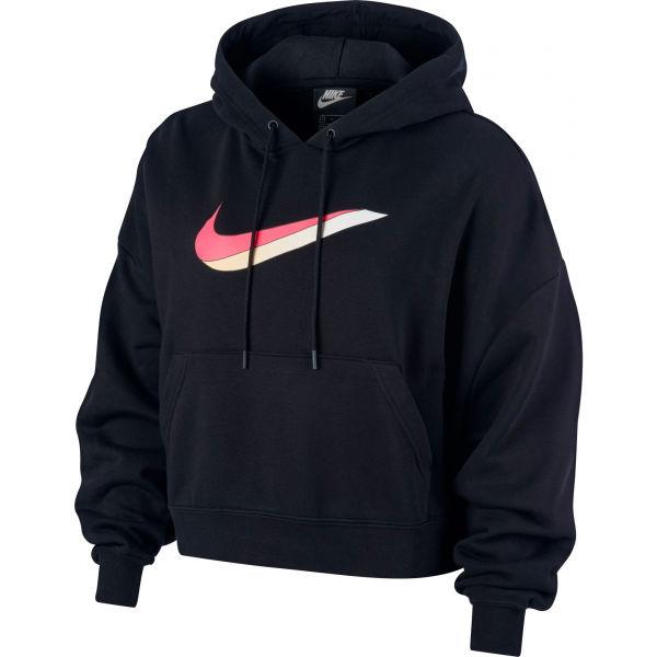 Nike NSW ICN CLSH FLC HOODIE FT W - Dámska mikina