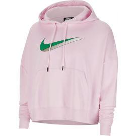 Nike NSW ICN CLSH FLC HOODIE FT W - Dámská mikina