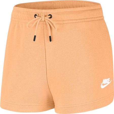 Nike NSW ESSNTL SHORT FT W - Dámské sportovní šortky