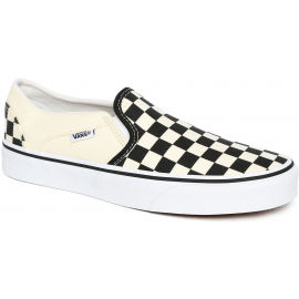 Vans WM ASHER CHCKRBRD - Unisexové slip-on boty