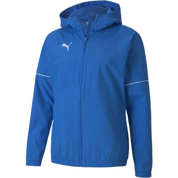 Puma TEAM GOAL RAIN JACKET modrá XL - Pánská sportovní bunda