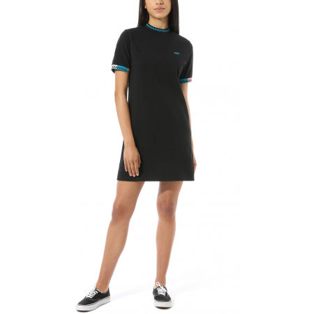 Women's dress - Vans WM HI ROLLER TRI CHECK DRESS - 2