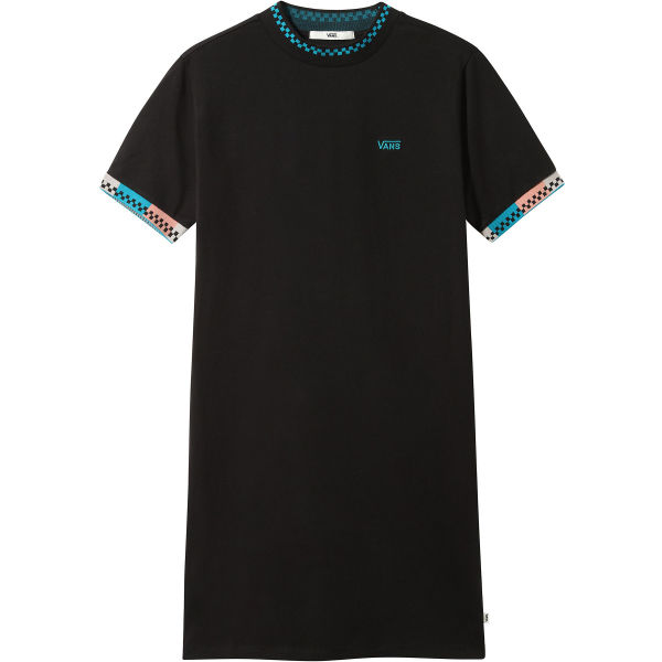 Vans WM HI ROLLER TRI CHECK DRESS  XS - Dámské šaty