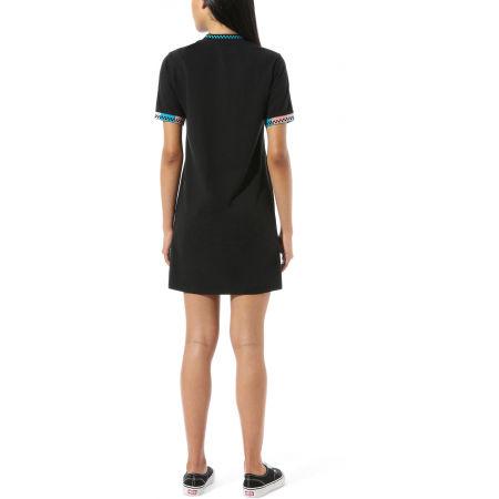 Women's dress - Vans WM HI ROLLER TRI CHECK DRESS - 3