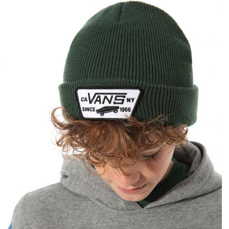 Момчешка зимна шапка - Vans BY MILFORD BEANIE BOYS PINE NEEDLE - 3