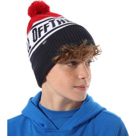 Boy's winter hat - Vans BY OFF THE WALL POM BEANIE BOYS DRESS - 3
