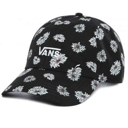 Vans WM COURT SIDE PRINTED HAT BEAUTY FLORAL - Dámská kšiltovka