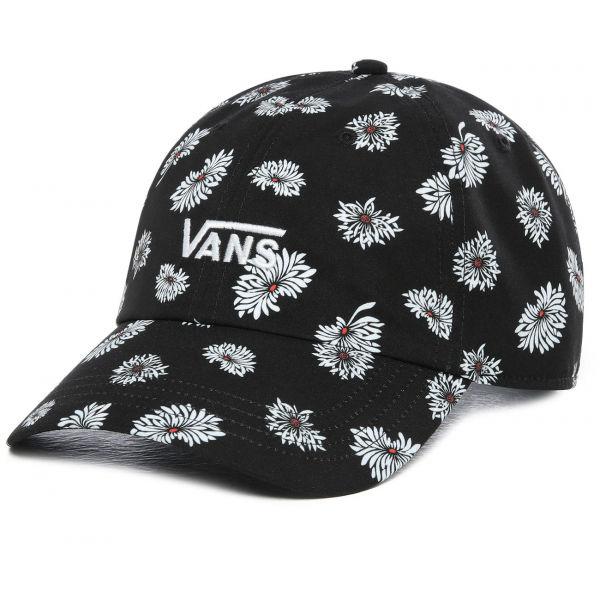 Vans WM COURT SIDE PRINTED HAT BEAUTY FLORAL - Dámska šiltovka