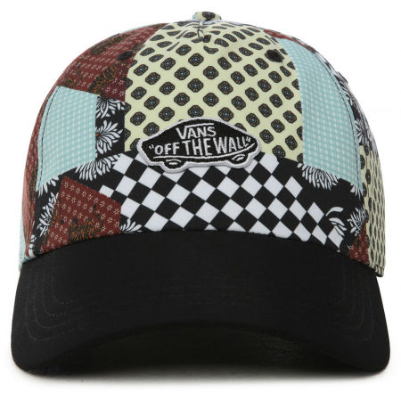 Czapka z daszkiem damska - Vans WM COURT SIDE PRINTED HAT BEAUTY FLORAL - 2