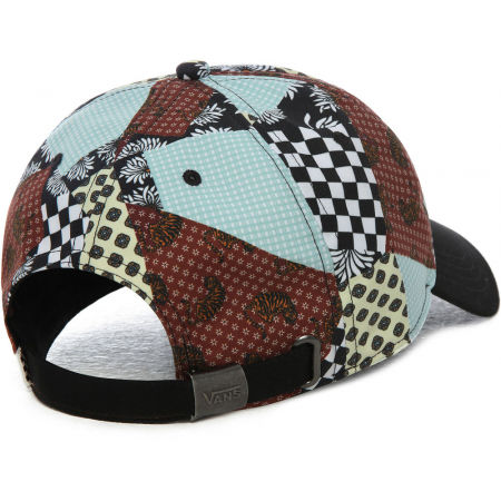 Czapka z daszkiem damska - Vans WM COURT SIDE PRINTED HAT BEAUTY FLORAL - 3