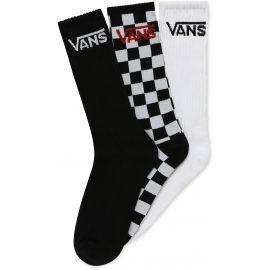 Vans MN CLASSIC CREW 9.5-13 3PK - Pánské ponožky