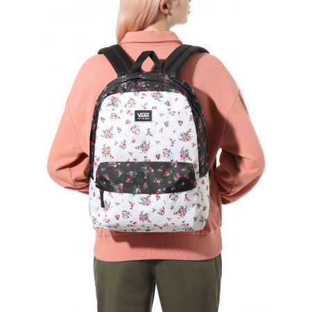 Дамска раница - Vans WM REALM CLASSIC BACKPACK BEAUTY FLORAL PATCHWORK - 5