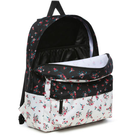 Дамска раница - Vans WM REALM CLASSIC BACKPACK BEAUTY FLORAL PATCHWORK - 3