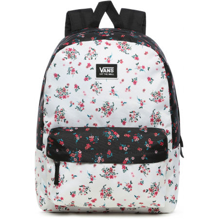 Vans WM REALM CLASSIC BACKPACK BEAUTY FLORAL PATCHWORK - Dámsky batoh