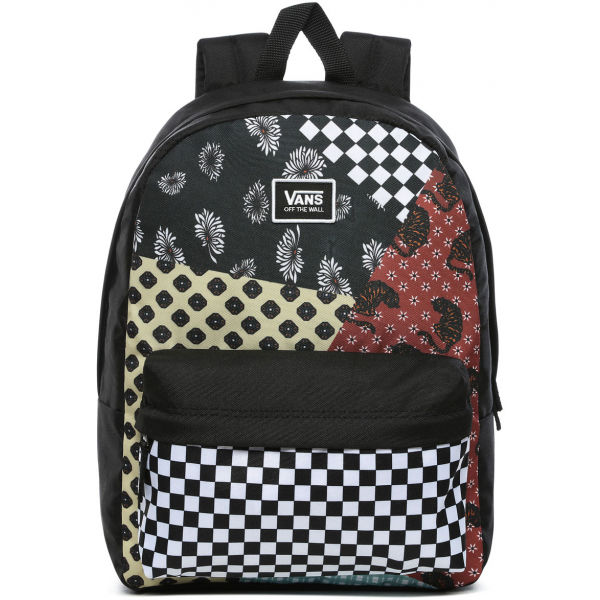 Vans WM REALM CLASSIC BACKPACK BEAUTY FLORAL PATCHWORK   - Dámský batoh