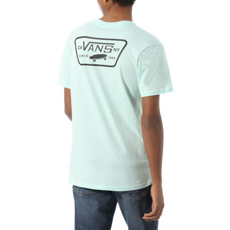 Pánske tričko - Vans MN FULL PATCH BACK SS - 3