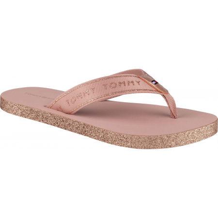 Tommy Hilfiger FEMININE PATENT BEACH SANDAL - Damen Flip Flops