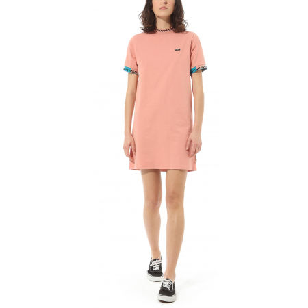 Дамска рокля - Vans WM HI ROLLER TRI CHECK DRESS - 2
