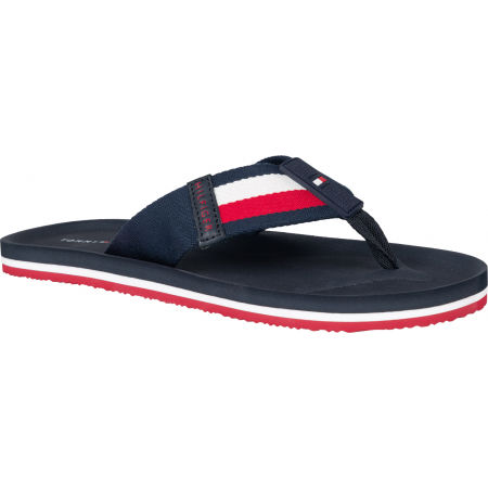 Tommy Hilfiger SPORTY CORPORATE BEACH SANDAL - Férfi flip-flop papucs