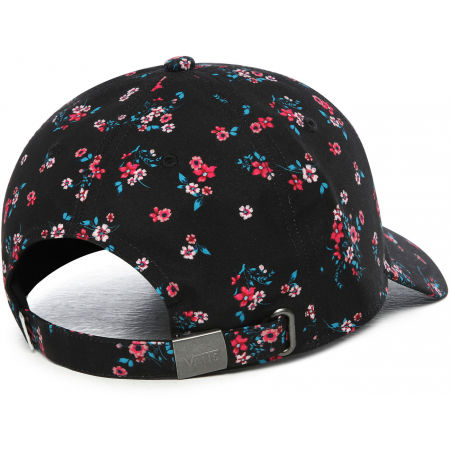 Women's baseball cap - Vans WM COURT SIDE PRINTED HAT BEAUTY FLORAL - 3