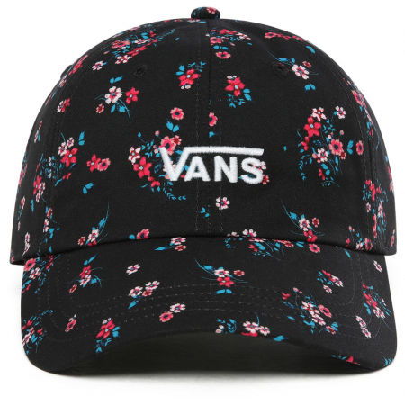 Women's baseball cap - Vans WM COURT SIDE PRINTED HAT BEAUTY FLORAL - 2