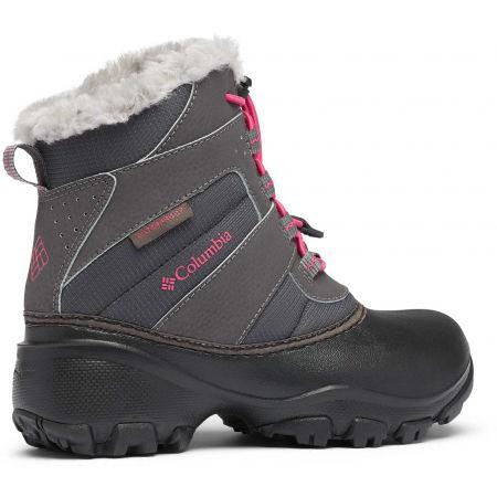 Dievčenská zimná obuv - Columbia YOUTH ROPE TOW - 8