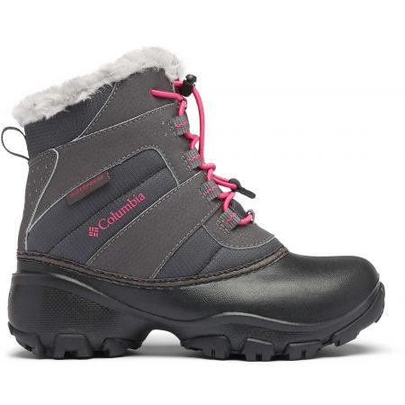 Dievčenská zimná obuv - Columbia YOUTH ROPE TOW - 2
