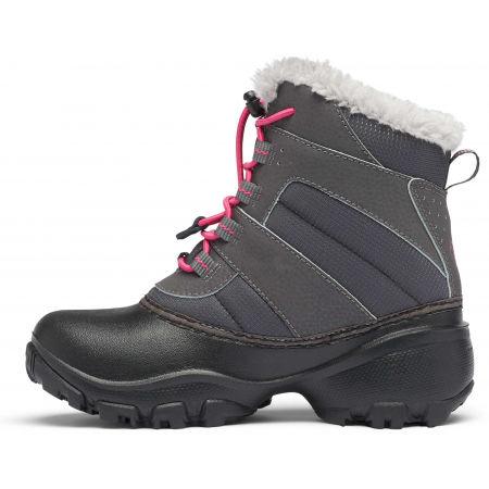 Dievčenská zimná obuv - Columbia YOUTH ROPE TOW - 3