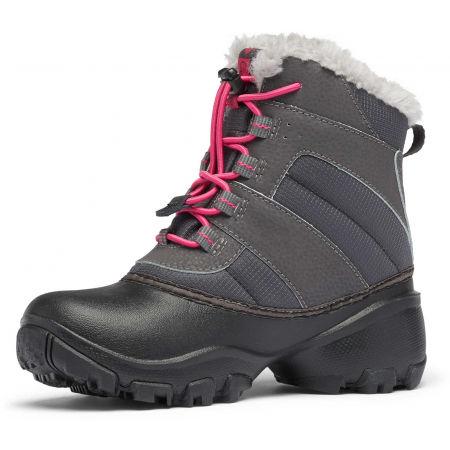 Dievčenská zimná obuv - Columbia YOUTH ROPE TOW - 7