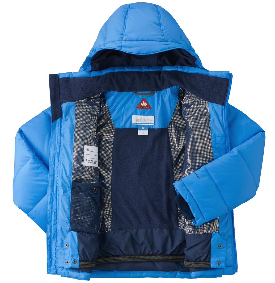 SPACE HEATER JACKET - Dětská zimní bunda bab5312032