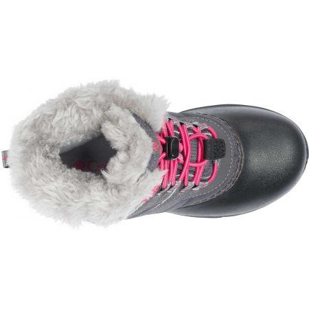 Dievčenská zimná obuv - Columbia YOUTH ROPE TOW - 4