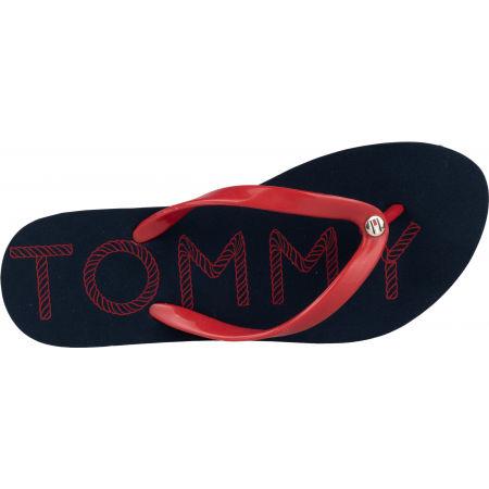 Dámske žabky - Tommy Hilfiger TOMMY FOOTBED FLAT BEACH SANDAL - 5