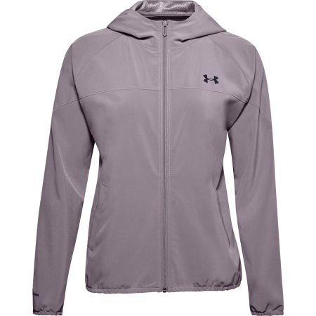 Under Armour WOVEN HOODIED JACKET - Dámská bunda