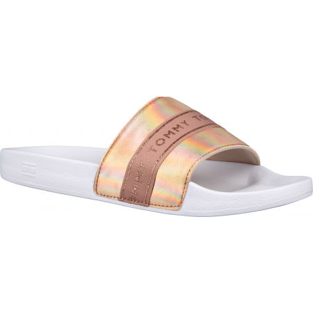Tommy Hilfiger GLITTER POOL SLIDE - Дамски  чехли