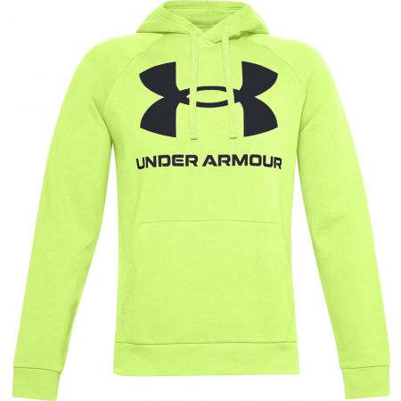Under Armour RIVAL FLEECE BIG LOGO HD - Pánská mikina