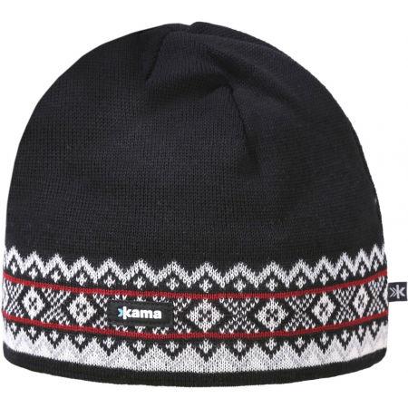 Căciulă tricotată - Kama CĂCIULĂ MERINO A144