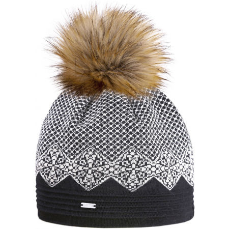 Kama ČEPICE MERINO A152 - Dámská pletená čepice s jemným vzorem