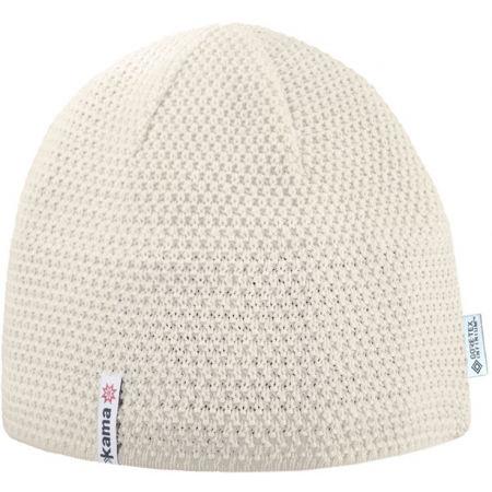 Kama ШАПКА MERINO SP018 - Плетена шапка с гладка плетка