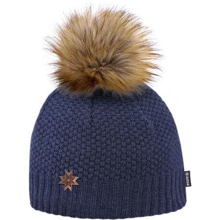 Dámská čepice s jemným vzorem - Kama ČEPICE A155