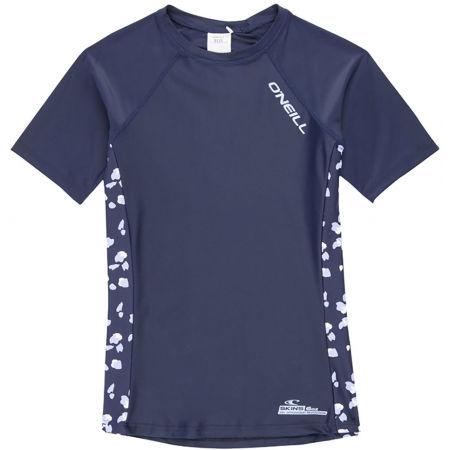 Dívčí tričko do vody - O'Neill PG PRINT S/SLV SKINS - 1