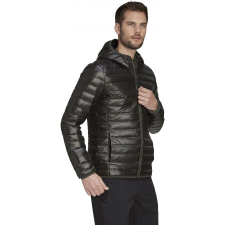 Pánská péřová bunda - adidas VARILITE DOWN HOODED JACKET - 5
