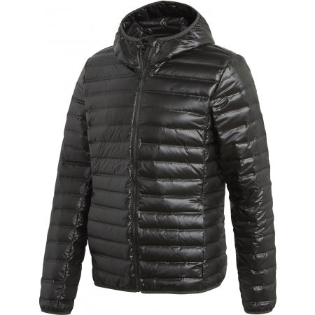 adidas VARILITE DOWN HOODED JACKET - Pánska páperová bunda