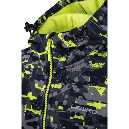 Boys' softshell jacket - Lewro INAROS - 4