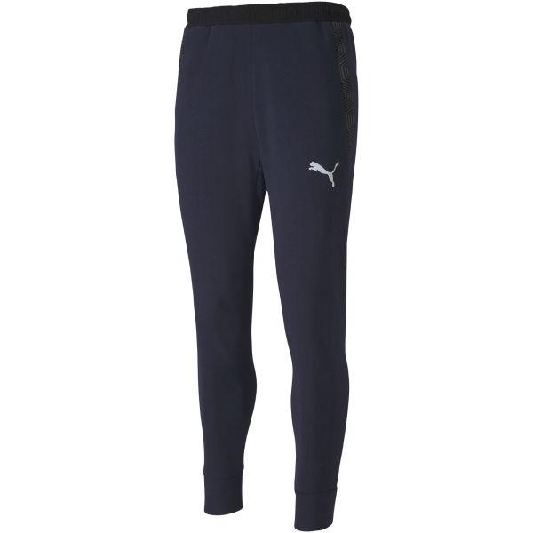 Puma TEAM FINAL 21 SWEAT PANTS tmavo modrá XXL - Pánske nohavice