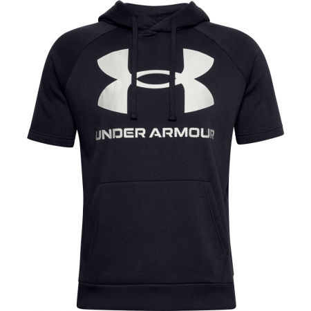 Under Armour RIVAL FLEECE BIG LOGO SS - Pánske tričko